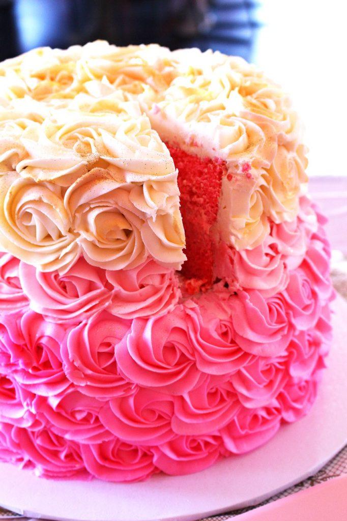 Baby showr cake